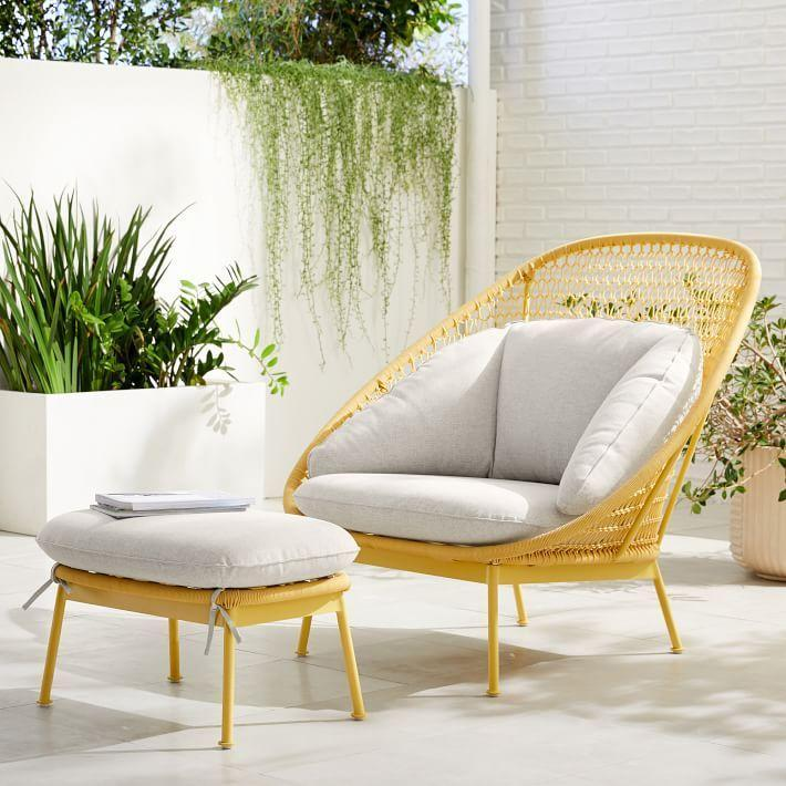 """<p><strong>West Elm </strong></p><p>westelm.com</p><p><a href=""""https://go.redirectingat.com?id=74968X1596630&url=https%3A%2F%2Fwww.westelm.com%2Fproducts%2Fparadise-outdoor-lounge-chair-ottoman-set-h5304&sref=https%3A%2F%2Fwww.bestproducts.com%2Fhome%2Fg33012977%2Fwest-elm-summer-home-decor-sale%2F"""" rel=""""nofollow noopener"""" target=""""_blank"""" data-ylk=""""slk:Shop Now"""" class=""""link rapid-noclick-resp"""">Shop Now</a></p><p><del>$1,198</del><strong><br>$958.40</strong></p><p>If you have an outdoor space, we're giving you full permission to kick back and relax with this outdoor set. </p>"""