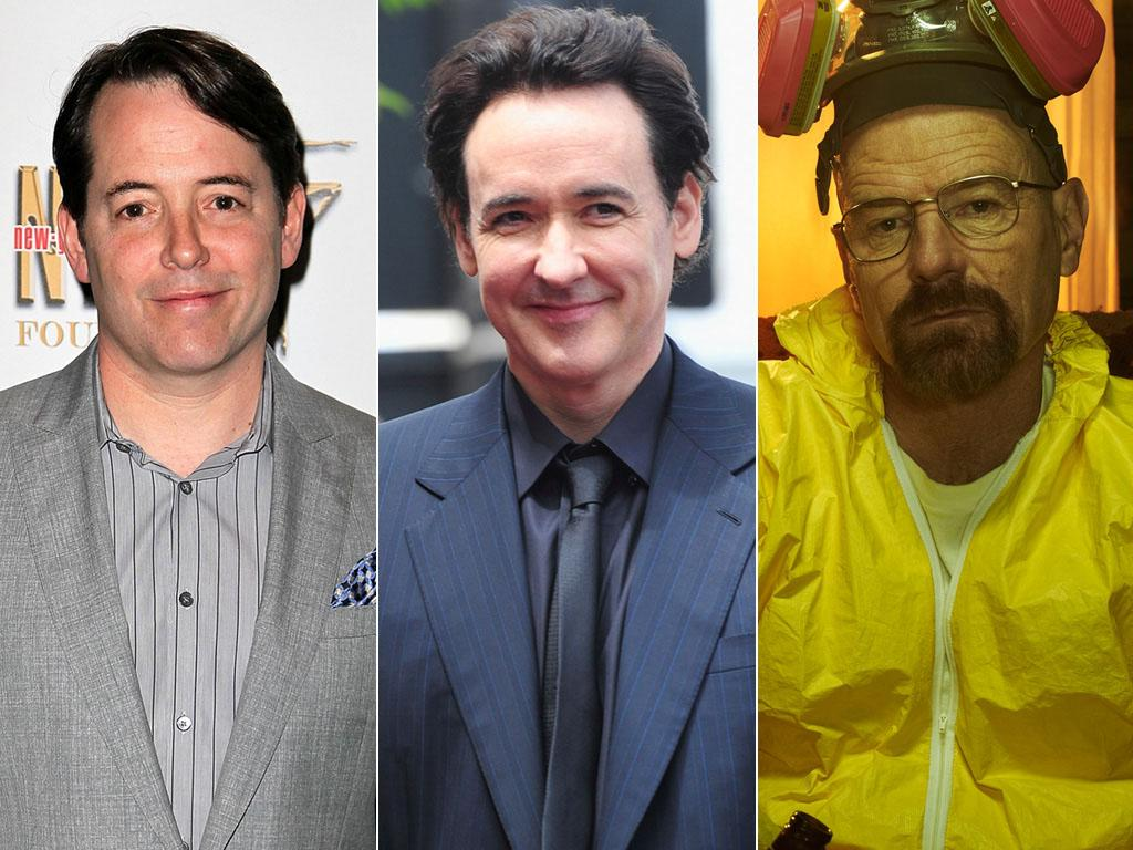 "<p>Matthew Broderick or John Cusack as Walter White (""<a href=""http://tv.yahoo.com/breaking-bad/show/40954"">Breaking Bad</a>"")</p> <br> <p>When ""Breaking Bad"" premiered in 2008, audiences were shocked to see the lovably goofy dad from Fox's lighthearted ""Malcolm in the Middle"" suddenly dealing with cancer … not to mention dealing crystal meth. So it's understandable that AMC had reservations about Bryan Cranston's casting, preferring movie stars John Cusack or Matthew Broderick instead, according to The Hollywood Reporter. ""We all still had the image of Bryan [standing in the kitchen, in his underwear] shaving his body in 'Malcolm in the Middle,'"" one exec told the magazine. But series creator Vince Gilligan (who had worked with Cranston before on an episode of ""The X-Files"") stuck to his guns, and now Cranston has a trio of Emmy awards as a result. </p>"