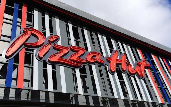 File photo dated 18/06/20 of a Pizza Hut restaurant after the company announced plans to shut 29 of its 244 UK restaurants, putting around 450 jobs at risk. - Mike Egerton/PA Wire