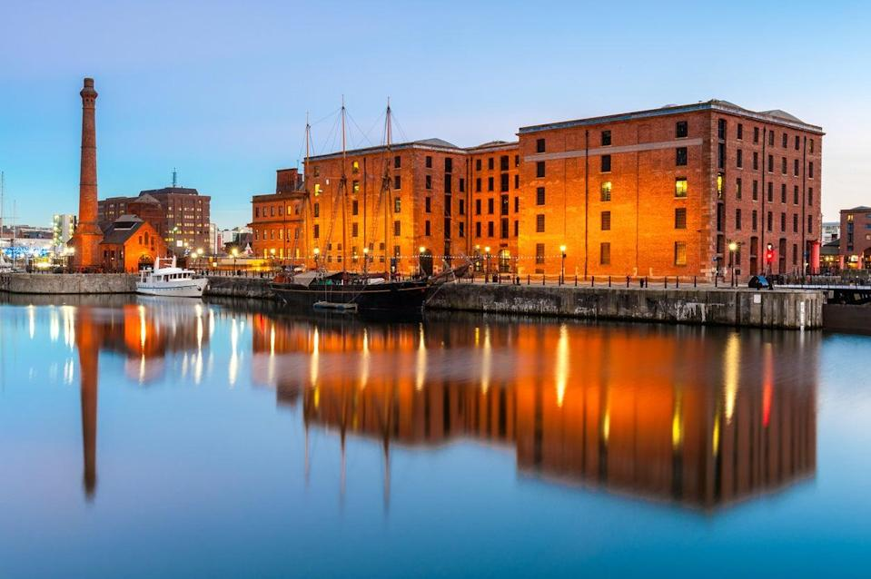 Liverpool's Albert Docks will be among those heavily affected by the new tier 3 restrictions (Getty Images)