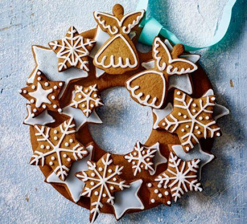 "<p>Another decoration that you may be tempted to eat is a wreath made entirely out of gingerbread – it get's our vote. <a rel=""nofollow"" href=""http://www.bbcgoodfood.com/recipes/gingerbread-wreath?amp""><em>[Photo: BBC good food]</em></a> </p>"
