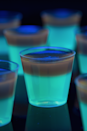 "<p>Even when you're in disguise, your friends won't be able to loose you with these glow-in-the-dark layered shots.</p><p><em><a href=""https://www.delish.com/cooking/recipe-ideas/recipes/a44347/glowing-jell-o-shots-glow-party-foods/"" rel=""nofollow noopener"" target=""_blank"" data-ylk=""slk:Get the recipe from Delish »"" class=""link rapid-noclick-resp"">Get the recipe from Delish »</a></em></p>"