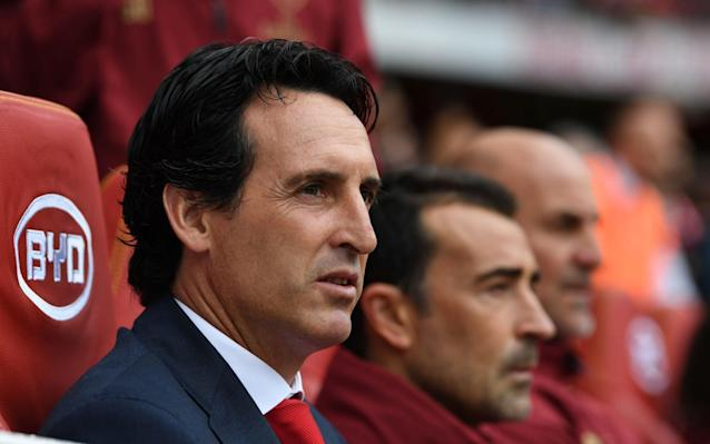 Unai Emery reassured that difficult start to the season means he will not be judged on early results
