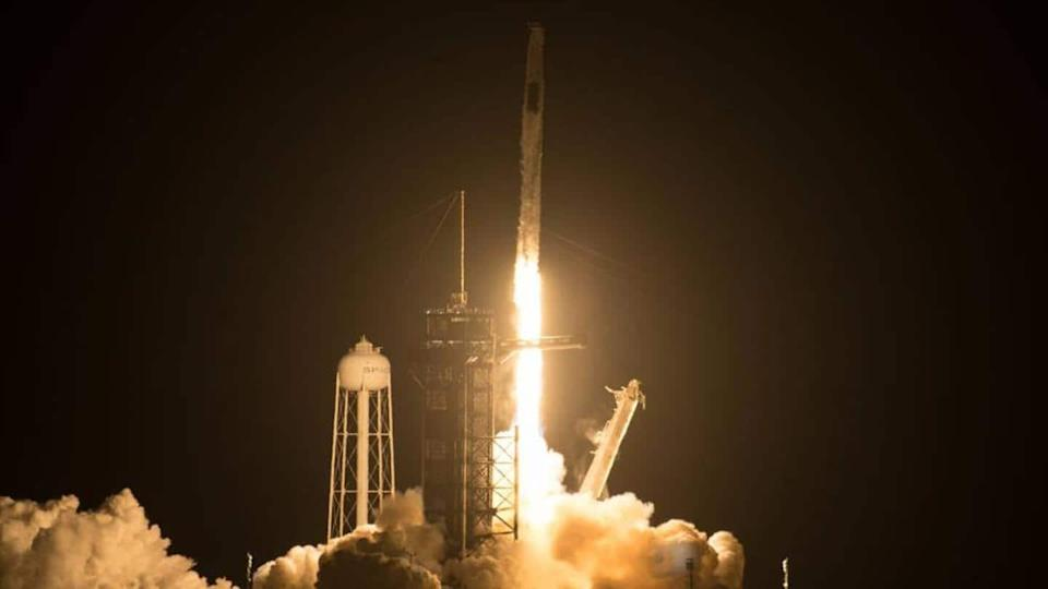 NASA, SpaceX Crew-2 astronauts successfully embark on journey to ISS
