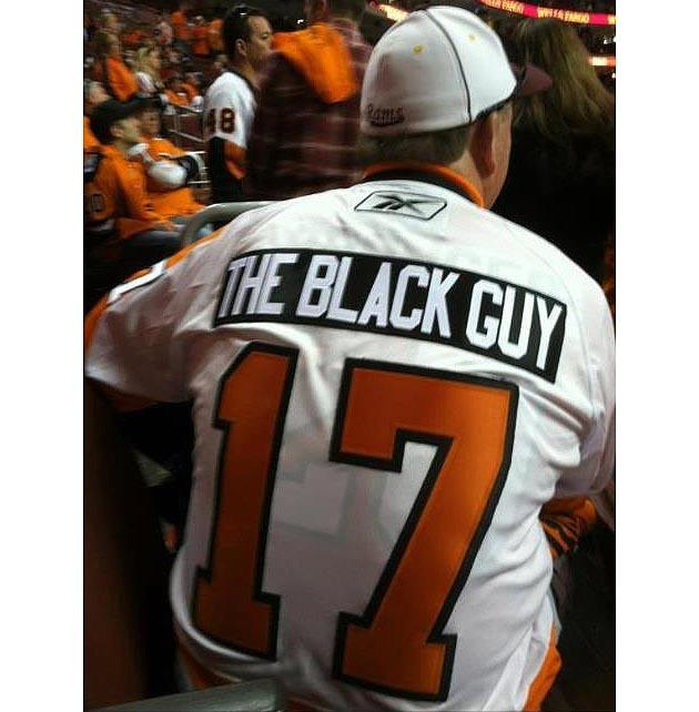huge selection of 5d3f8 9d4f3 Jersey Fouls Extra: Flyers fan reminds you that Wayne ...