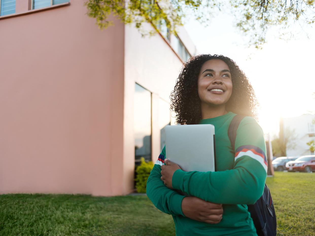 Making social connections with other students, such as by joining a club, can help reduce anxiety for preteens and teens. (Photo: Getty)