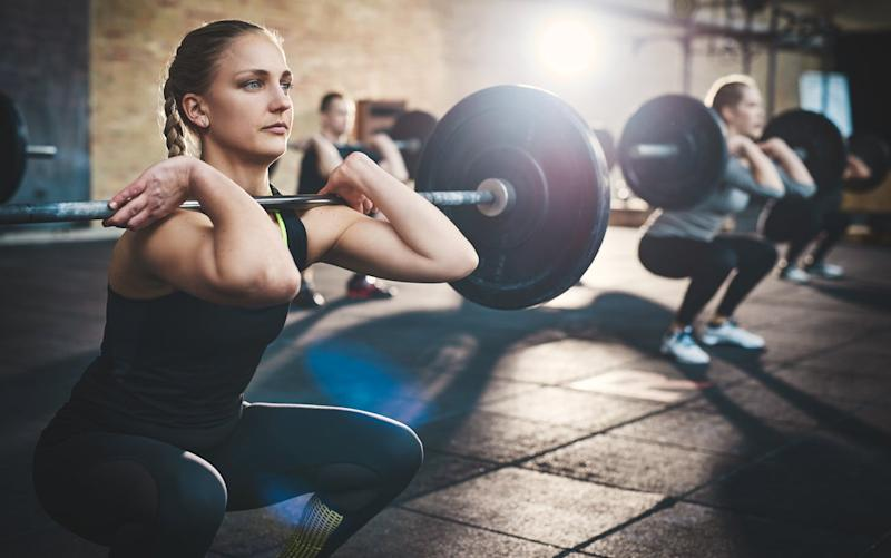 Exercises such as roman chairs, weighted squats and bridges could lead to coregasms: Getty Images/iStockphoto