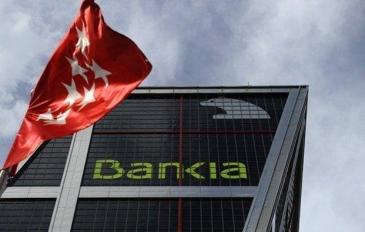 Bankia's headquarters in Madrid. Spain's fourth-biggest bank, Bankia, said Friday it will ask the government for 19 billion euros ($24 billion) in what would be the largest bank bailout in Spanish history.