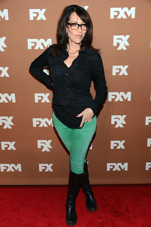 Katey Sagal attends the 2013 FX Upfront Bowling Event at Luxe at Lucky Strike Lanes on March 28, 2013 in New York City.