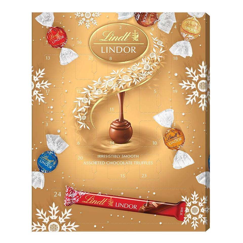 <p>Because who wouldn't want a daily LINDOR ball during the December countdown, with a milk chocolate bar to unwrap on the last day? 325g of chocolate, we're sold!</p><p><strong>Available exclusively to Sainsbury's, RRP £12</strong></p>