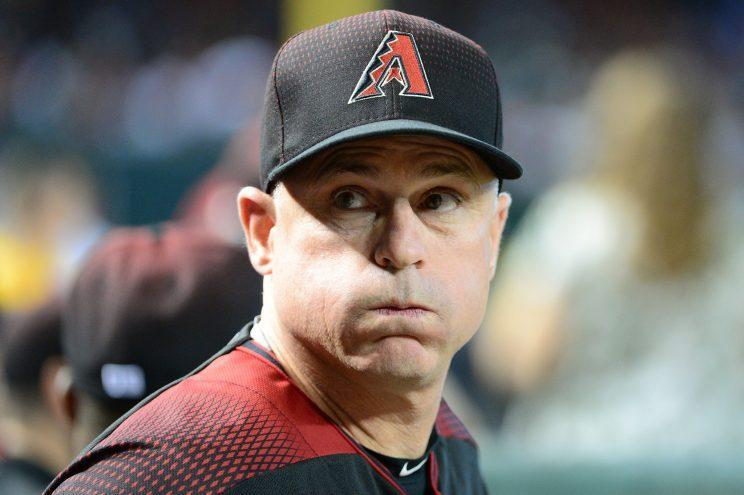 It doesn't look like Chip Hale is going to survive the D-Backs' overhaul. (Getty Images/Jennifer Stewart)