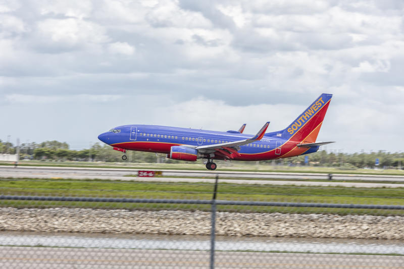 A man allegedly groped a woman on a Southwest Airlines flight from Houston, Texas, to Albuquerque, New Mexico.