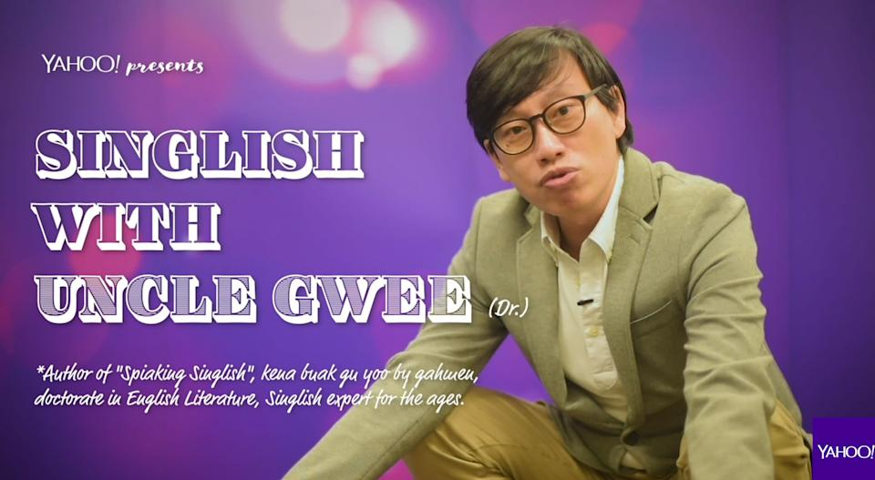 Singlish with Uncle Gwee