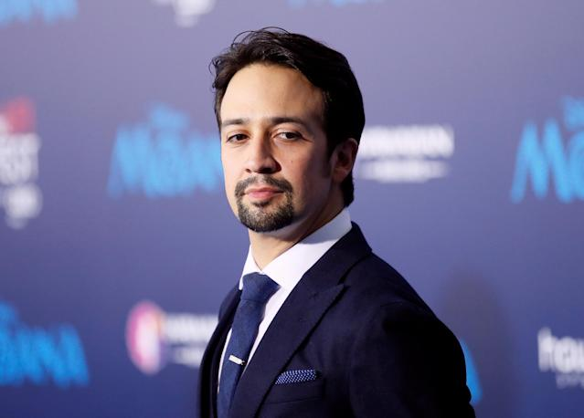 "Actor and composer Lin-Manuel Miranda poses at the world premiere of Walt Disney Animation Studios' ""Moana"" as a part of AFI Fest in Hollywood, Calif., Nov. 14, 2016. (Photo: Danny Moloshok/Reuters)"