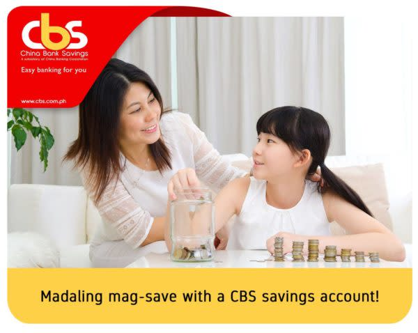 Savings Accounts with Low Maintaining Balance - Chinabank Easi-save