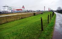 Stena Line ferry is seen at the Port of Rotterdam as ferry services coming from the United Kingdom to the Netherlands are no longer allowed to carry passengers because of the mutation of COVID-19 in Hoek van Holland