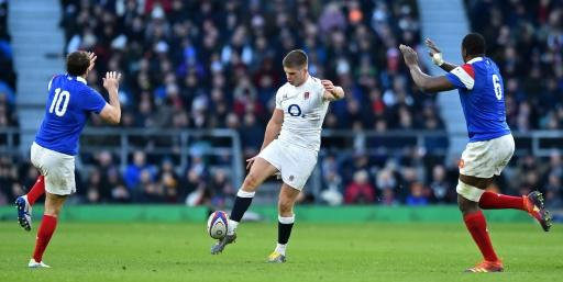 Owen Farrell played fly last years as England thrashed France at Twickenham but faces completely changed half-back pairing and back row on Sunday