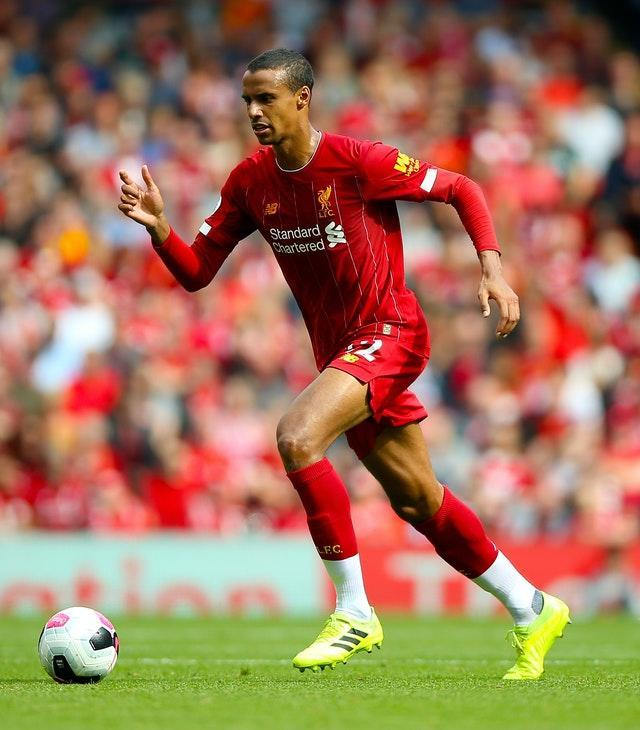 Joel Matip could return after injury