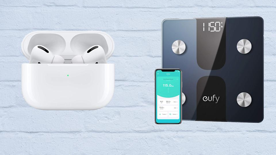 Shop Amazon deals today for savings on super-popular earbuds and super-affordable smart scales.