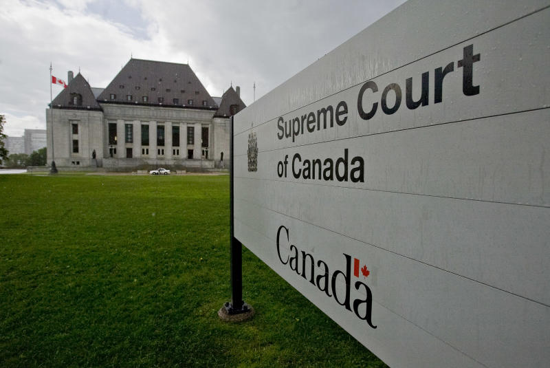 The Supreme Court of Canada is pictured June 20, 2008