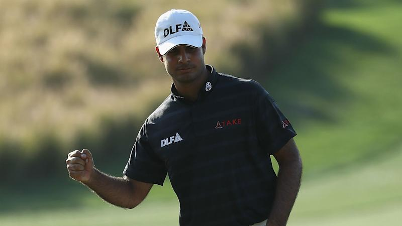 Sharma, Wallace share lead at Indian Open