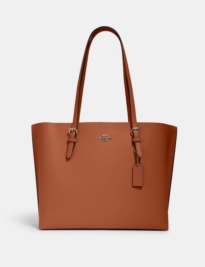 Mollie Tote. Image via Coach Outlet.
