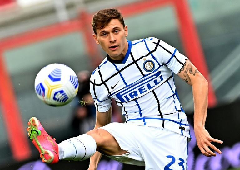 Breakthrough season for Italian midfielder Nicolo Barella.