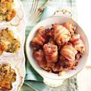 """<p>You can halve the recipe if you're not filling your turkey.</p><p><strong>Recipe: <a href=""""https://www.goodhousekeeping.com/uk/food/recipes/a537107/cranberry-apple-and-pork-stuffing/"""" rel=""""nofollow noopener"""" target=""""_blank"""" data-ylk=""""slk:Cranberry, apple and pork stuffing"""" class=""""link rapid-noclick-resp"""">Cranberry, apple and pork stuffing</a></strong></p>"""