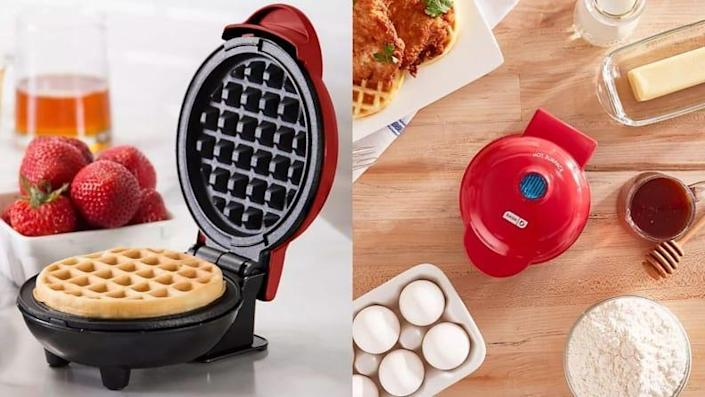 This is the mini waffle maker you need for your compact kitchen.