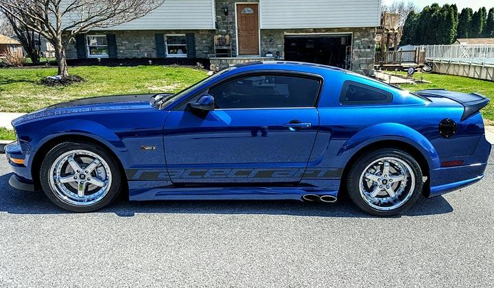 this 08 saleen ford mustang is truly a 1 of 1 your ride. Black Bedroom Furniture Sets. Home Design Ideas