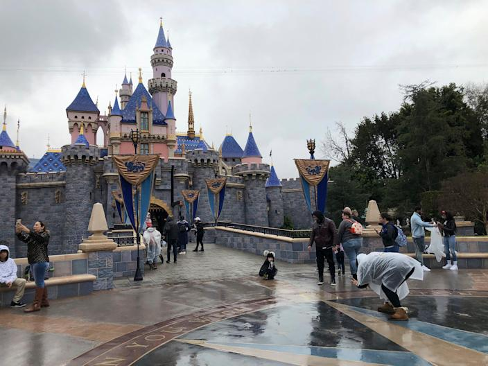 Disneyland has been closed since the middle of March.
