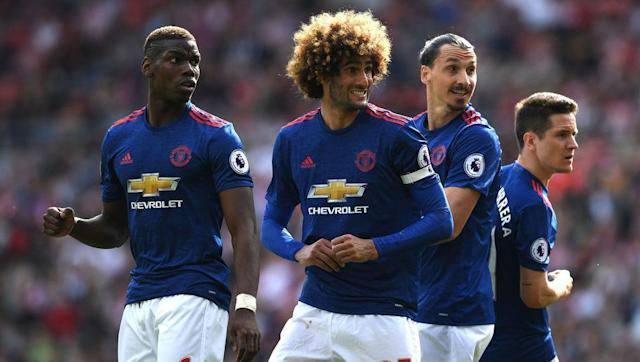 <p>With Wayne Rooney being reduced to an expensive bench decoration, José Mourinho has to find another player to captain that Manchester United team. And with Michael Carrick kicked out of the starting eleven, the Mou had to find someone else. </p> <br><p>Surprisingly enough, that someone else happened to be Marouane Fellaini. Well, not that any of the other ten had any more legitimacy to carry the armband - which is kind of sad - but the choice sure made United fans laugh. </p> <br><p>That still didn't prevent the Red Devils from crushing Sunderland 0-3 though.</p>