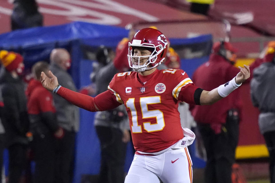 Kansas City Chiefs quarterback Patrick Mahomes was Super Bowl MVP last year. (AP Photo/Jeff Roberson)