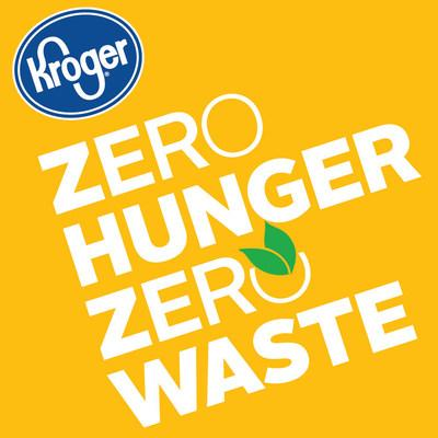 Logo: Zero Hunger | Zero Waste (PRNewsfoto/The Kroger Co.)