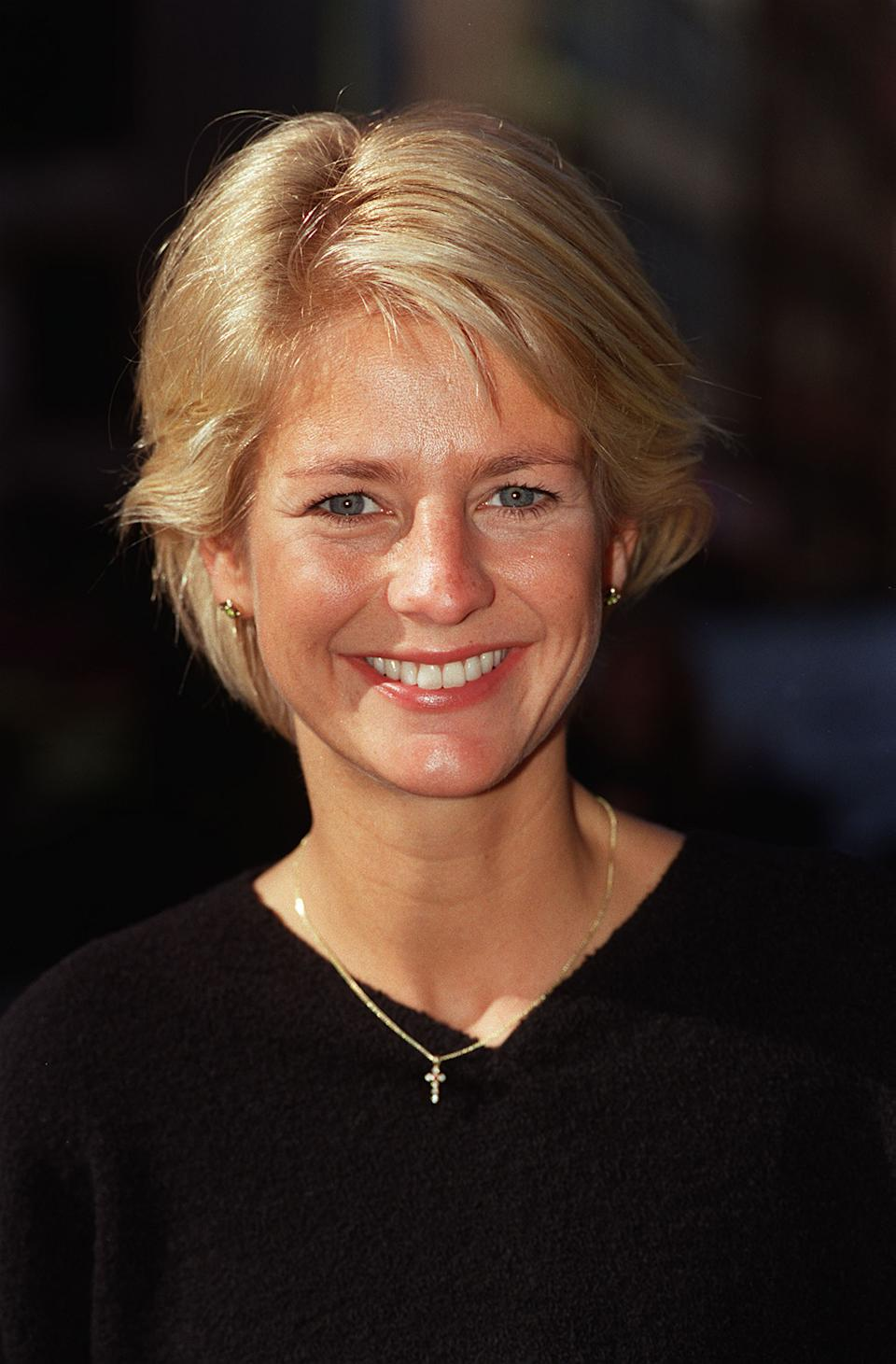 PA NEWS PHOTO 2/10/97  TV PRESENTER ULRIKA JONSSON AT A PHOTOCALL IN LONDON   (Photo by PA Images via Getty Images)