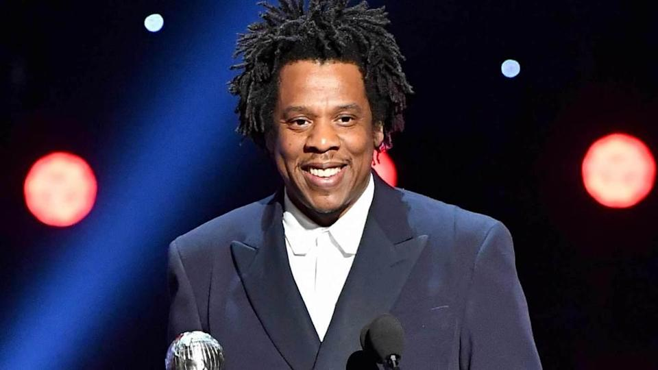 "<p>Jay-Z is in rarified air — he's been officially named as hip-hop's first billionaire. According to Forbes, the rapper ""has accumulated a fortune that conservatively totals $1 billion, making him one of only a handful of entertainers to become a billionaire—and the first hip-hop artist to do so."" The breakdown of Jay-Z's fortune includes his […]</p> <p>The post <a rel=""nofollow noopener"" href=""https://theblast.com/jay-z-billionaire-forbes/"" target=""_blank"" data-ylk=""slk:Jay-Z Breaks New Ground Being Named Hip-Hop's First Billionaire"" class=""link rapid-noclick-resp"">Jay-Z Breaks New Ground Being Named Hip-Hop's First Billionaire</a> appeared first on <a rel=""nofollow noopener"" href=""https://theblast.com"" target=""_blank"" data-ylk=""slk:The Blast"" class=""link rapid-noclick-resp"">The Blast</a>.</p>"