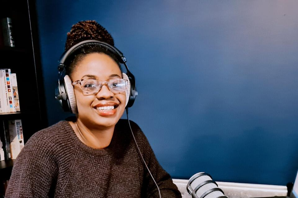 Bene Briggs-Mckinlay has been volunteering with Jambo Radio, a local radio station that allows her to entertain and educate her community