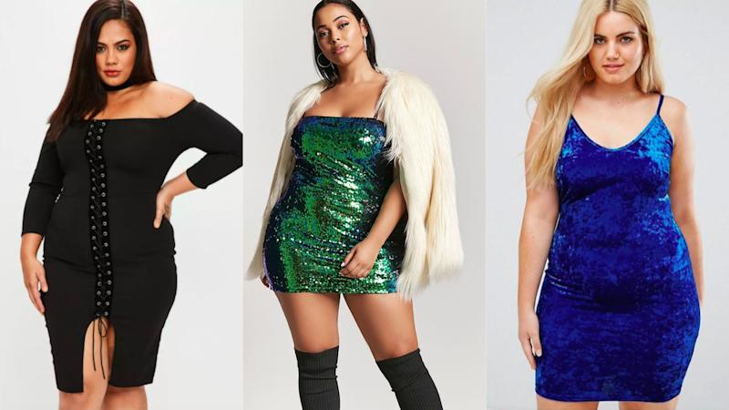 719cb7cd374 26 cute plus-size dresses guaranteed to slay on New Year s Eve
