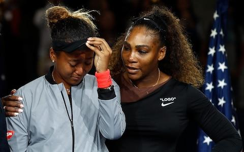 <span>Williams says she personally apologised to Naomi Osaka after the final</span> <span>Credit: GETTY IMAGES </span>