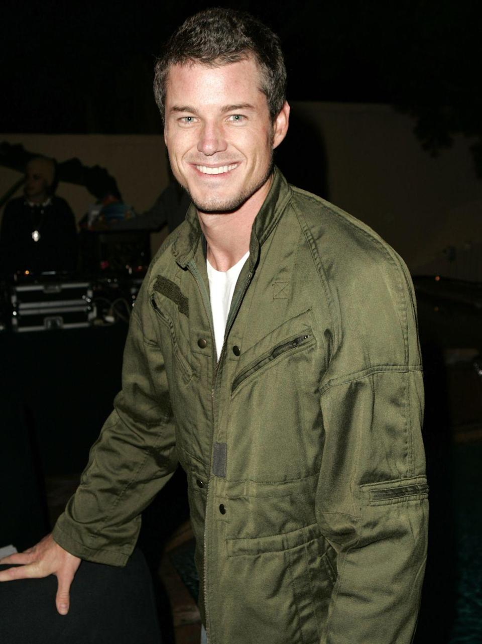<p>Since his breakout role on <em>The Wonder Years, </em>Eric Dane kept his hair short and trimmed. </p>