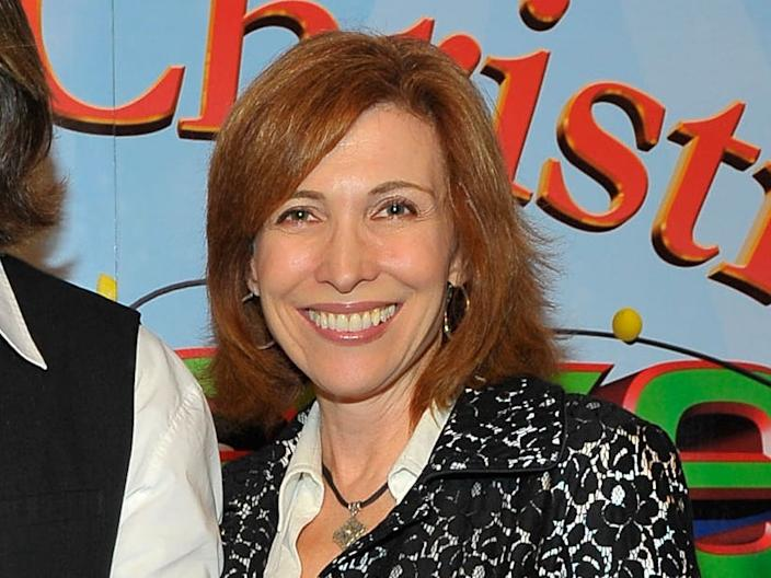 """Nancy Sullivan at the premiere of """"Merry Christmas, Drake and Josh"""" in 2008."""