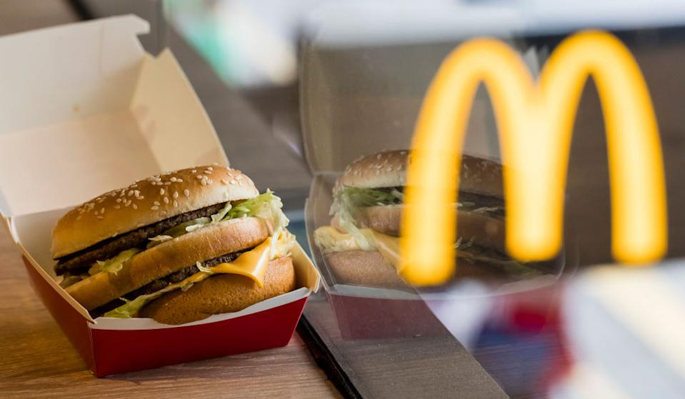 Big Macs are selling for 50 cents this Friday. (Photo by Yu Chun Christopher Wong/S3studio/Getty Images)