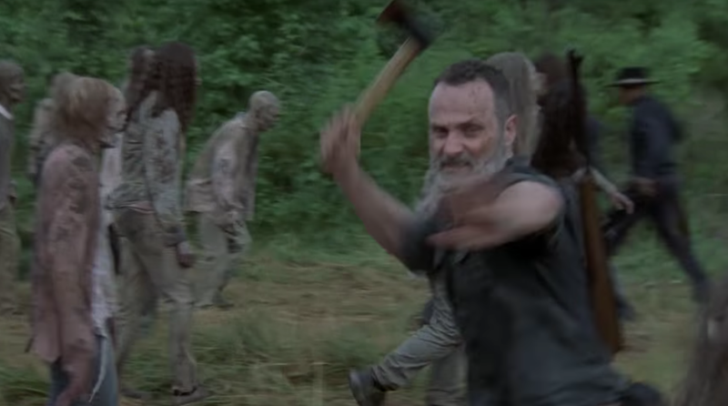 """Andrew Lincoln in """"The Walking Dead."""" (AMC)"""
