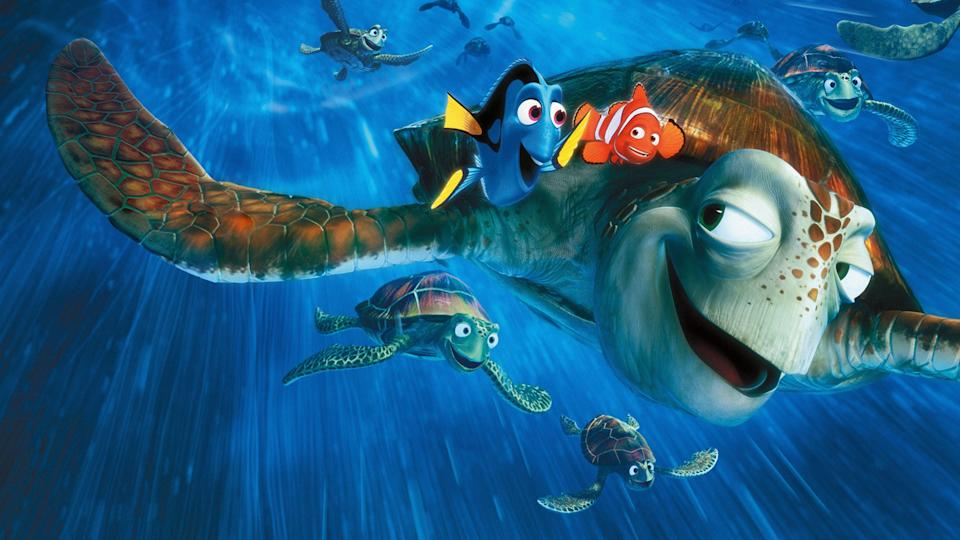 """<p>disneyplus.com</p><p><a href=""""https://go.redirectingat.com?id=74968X1596630&url=https%3A%2F%2Fwww.disneyplus.com%2Fmovies%2Ffinding-nemo%2F5Gpj2XqF7BV2&sref=https%3A%2F%2Fwww.countryliving.com%2Flife%2Fentertainment%2Fg30875475%2Fkids-movies-disney-plus%2F"""" rel=""""nofollow noopener"""" target=""""_blank"""" data-ylk=""""slk:STREAM NOW"""" class=""""link rapid-noclick-resp"""">STREAM NOW</a></p><p>Dory and Marlin embark on a wild adventure to find Marlin's son, Nemo. Seriously cool sea turtles are also involved. </p>"""