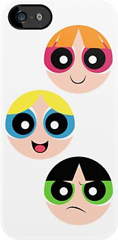 """<div class=""""caption-credit""""> Photo by: Redbubble</div><div class=""""caption-title"""">Powerpuff Girls iPhone case</div>Bubbles! Blossom! Buttercup! This iPhone case is the perfect way to add some childhood fun to your very adult iPhone!"""
