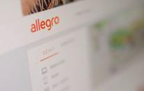 FILE PHOTO: Allegro website is displayed in this illustration