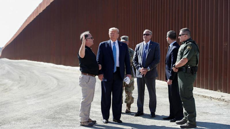 US Pentagon transfers another $3.8 billion to building Trump's Mexico border wall