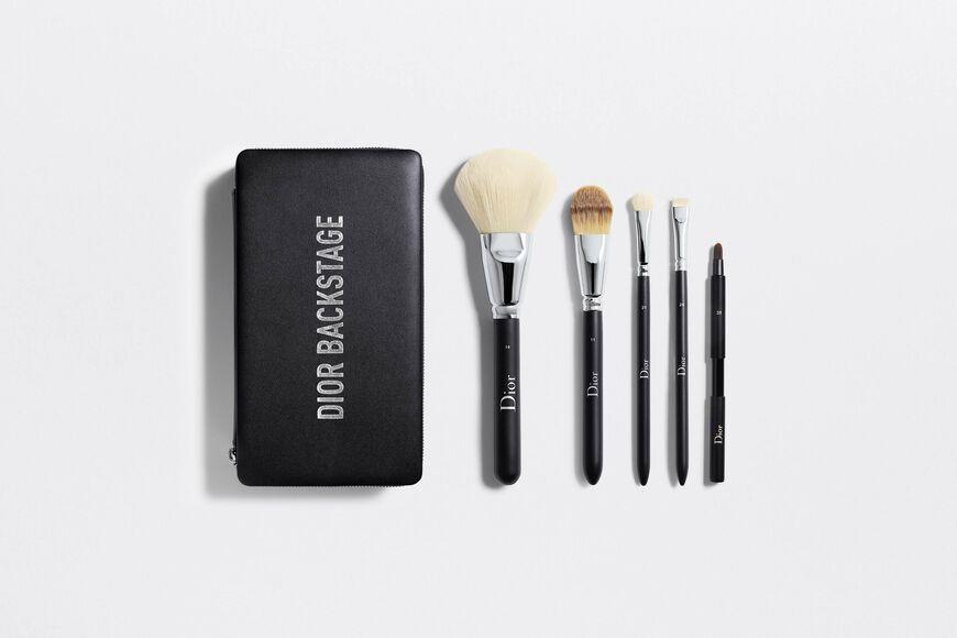 """<p><strong>Dior</strong></p><p>dior.com</p><p><strong>$4.76</strong></p><p><a href=""""https://go.redirectingat.com?id=74968X1596630&url=https%3A%2F%2Fwww.dior.com%2Fen_us%2Fproducts%2Fbeauty-Y0996280-dior-backstage-dior-backstage-brush-set&sref=https%3A%2F%2Fwww.prevention.com%2Fbeauty%2Fmakeup%2Fg37620517%2Fbest-makeup-brush-sets%2F"""" rel=""""nofollow noopener"""" target=""""_blank"""" data-ylk=""""slk:Shop Now"""" class=""""link rapid-noclick-resp"""">Shop Now</a></p><p>Alarcon says any set from Dior is worth the splurge. This one contains a powder brush, a foundation brush, an eyeshadow shader brush, an eyeliner brush, and a retractable lip brush along with a fancy carrying case.</p>"""