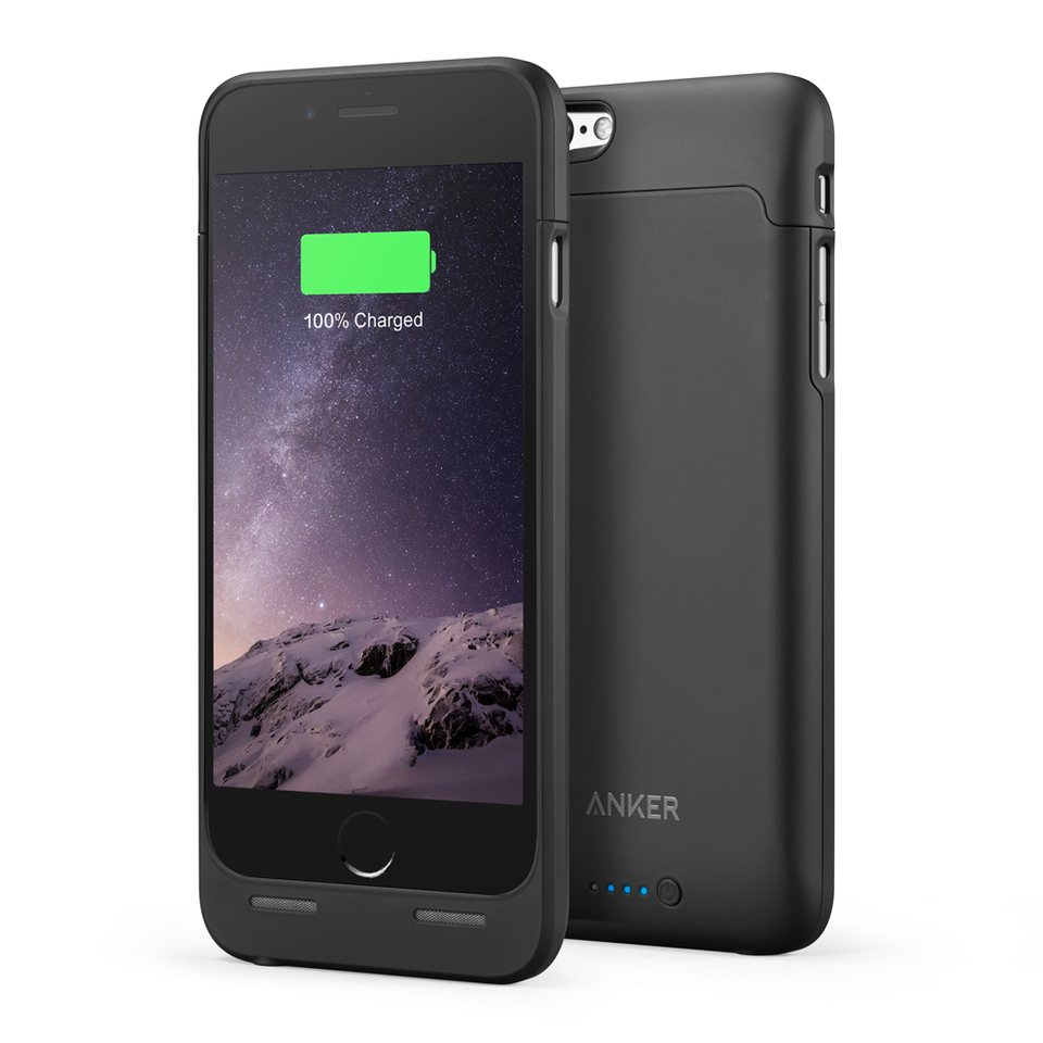 """<p>Cost: $42.99 </p><p>Every diligent traveler knows that a reliable backup phone battery is non-negotiable. <a rel=""""nofollow"""" href=""""https://www.anker.com/products/A1405011"""">This case by Anker</a> gives users 120% more battery life to talk, text or watch YouTube videos. In addition to being thin, the case has a polycarbonate shell to protect your phone against drops.</p><p></p>"""