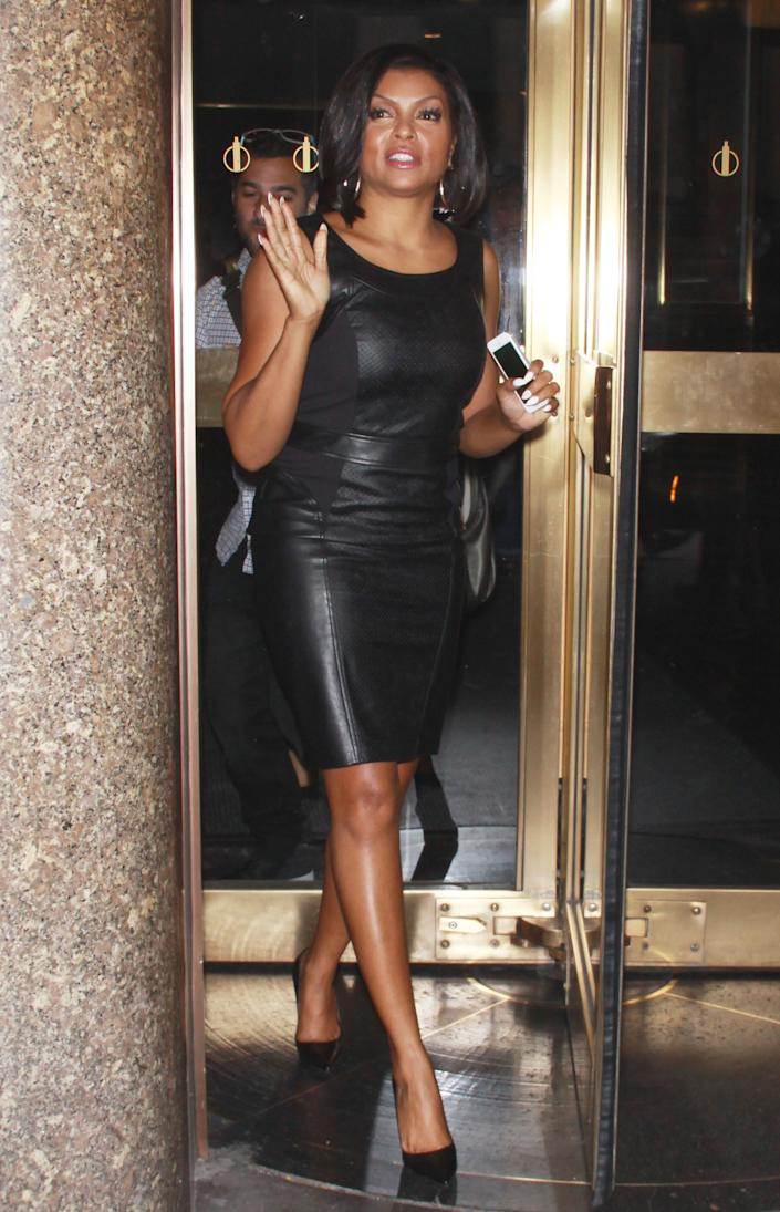 NEW YORK, SEPTEMBER 8: Taraji P. Henson at NBC'S New York Live in New York City on September 8, 2014. Credit: RW/MediaPunch/IPX